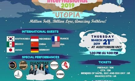 "Festival Budaya Internasional 2019 ""Utopia"""