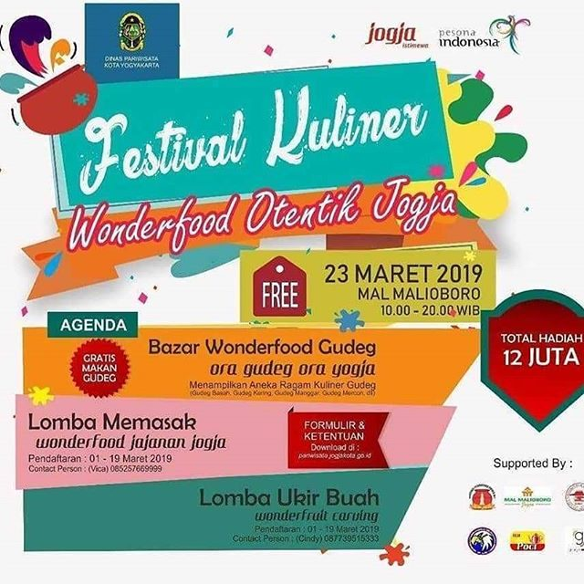 "Festival Kuliner ""Wonderfood Otentik Jogja"""