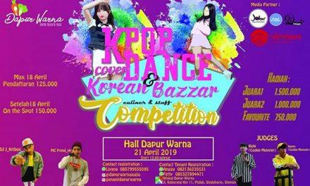 K-POP COVER DANCE COMPETITION & KOREAN BAZZAR.