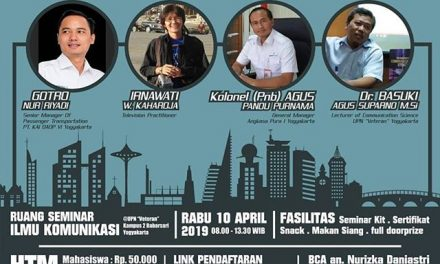 Seminar Nasional Corporate Communication in the Fourth Industrial Revolution