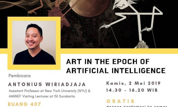 Art In The Epoch Of Artificial Intelligence