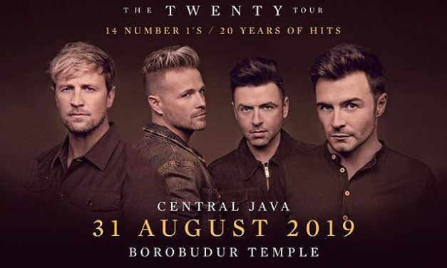 "Westlife ""The Twenty Tour"" Live In Borobudur"