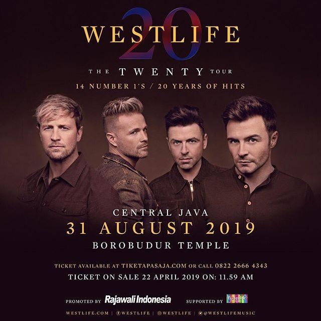"Westlife ""The Twenty Tour"" Live In Borobudur"