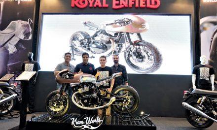 """Royal Enfield Luncurkan Sepeda Motor Kustom """"The 30"""" di Kustomfest 2019"""