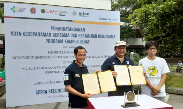 UMY Luncurkan Program Kampus Sehat Pertama Kali di Yogyakarta