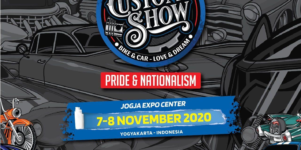 Perdana Dihelat, Indonesian Custom Show Siap Ramaikan Dunia Custom Indonesia