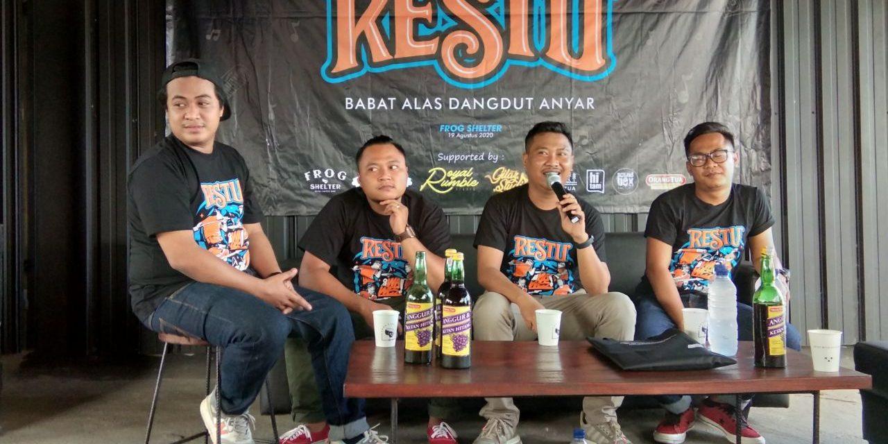 "Om Wawes Launching Album Perdana ""Restu"" dan Buku ''Babat Alas Dangdut Anyar''"