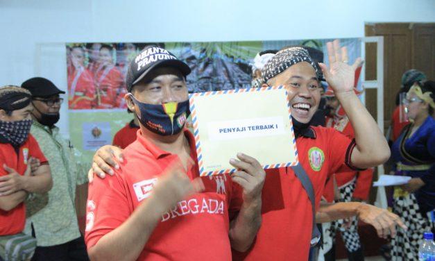 Bregada Dipowinatan Yogyakarta Raih Juara Pertama dalam Festival Bregada Rakyat